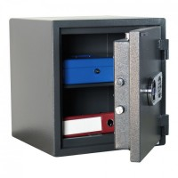 ATLAS 45 seif certificat antiefractie si antifoc,  h 46 cm, 135 kg, cheie