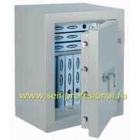 Diamant Fire Premium 65 EL - seif electronic certificat antiefractie clasa 2-EN1143 si antifoc 30 minute
