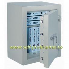 Diamant Fire Premium 90 EL - seif electronic certificat antiefractie clasa 2-EN1143 si antifoc 30 minute