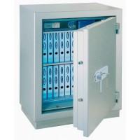 MegaPaper 140 Premium - seif certificat antiefractie clasa 1 si antifoc 120 minute, cu cheie