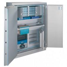 MegaPaper L180 Premium - seif certificat antiefractie clasa 1 si antifoc 120 minute, cu cheie