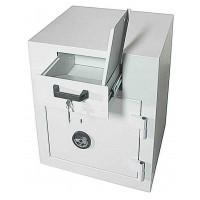 Schubladentresor B/ 70 Z - seif cu fanta / sertar de colectare cu clasa de securitate 1 si inchidere cu cheie