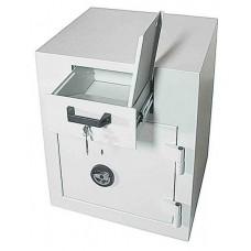 Schubladentresor B/ 100 Z - seif cu fanta / sertar de colectare cu clasa de securitate 1 si inchidere cu cheie