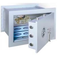 Stone Premium 35 - seif de perete, cu cheie, clasa antiefractie 1